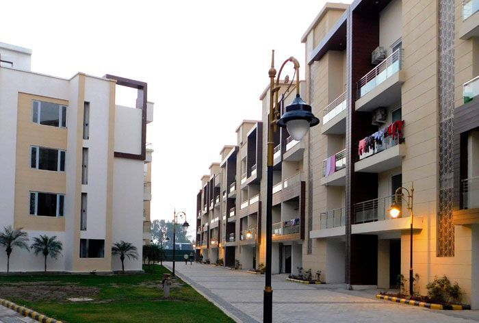 highland park ready to move 2bhk flats in zirakpur