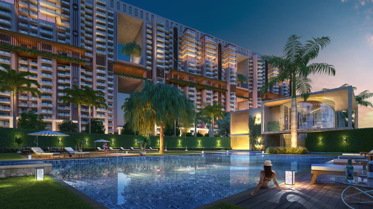3/4 BHK Apartments in Mohali, kids swimming pool, swimming pool, children swimming pool