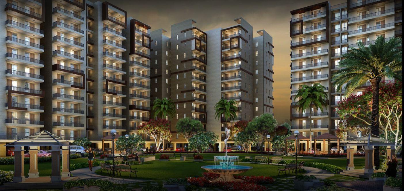 highland park 4 bhk flats zirakpur