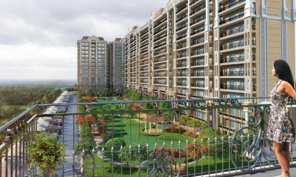 Affinity Greens 2-3-4BHK Premium Flats in Zirakpur-Cascade buildtech