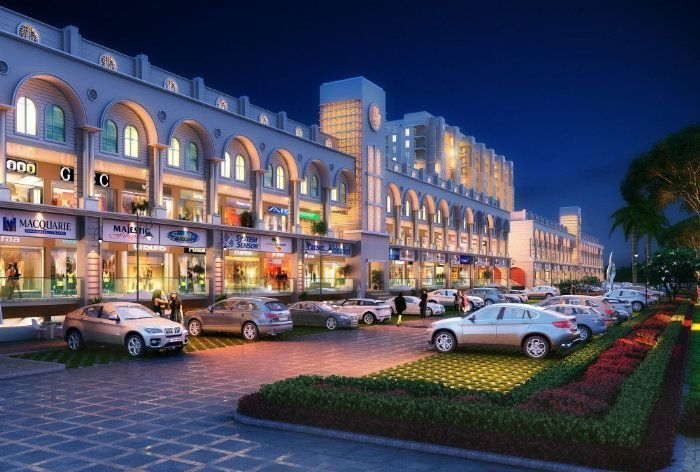 Modern Commercial Complex for office and shops in Mohali Mews Gate-Cascade Buildtech