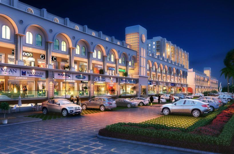 Modern Commercial Complex in Mohali Mews Gate-Cascade Buildtech