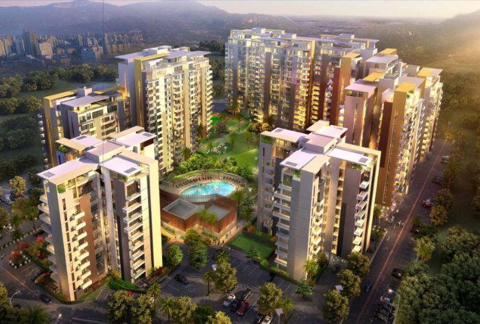 Sushma Joynest Aerial View 3BHK Flats For Sale in Zirakpur, Chandigarh