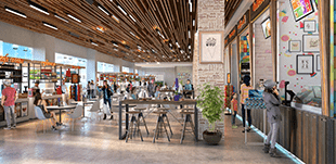 jubilee walk food court commercial property for sale-cascade buildtech