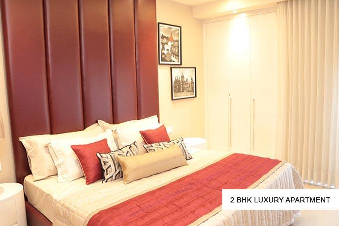 GBP Athens 2 bhk luxury apartment bedroom design-cascade buildtech