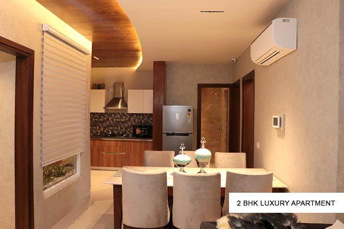 GBP Athens 2 bhk luxury apartment modern dining room ideas-cascade buildtech