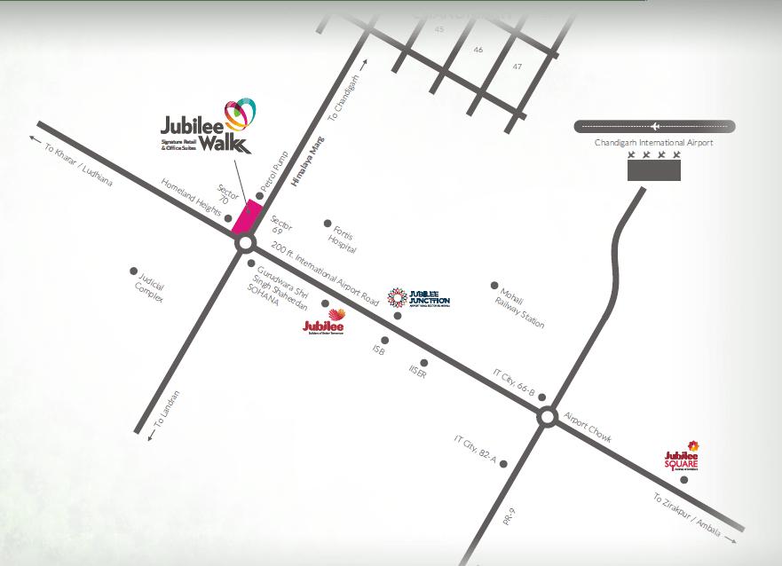 jubilee walk Location Map-cascade buildtech