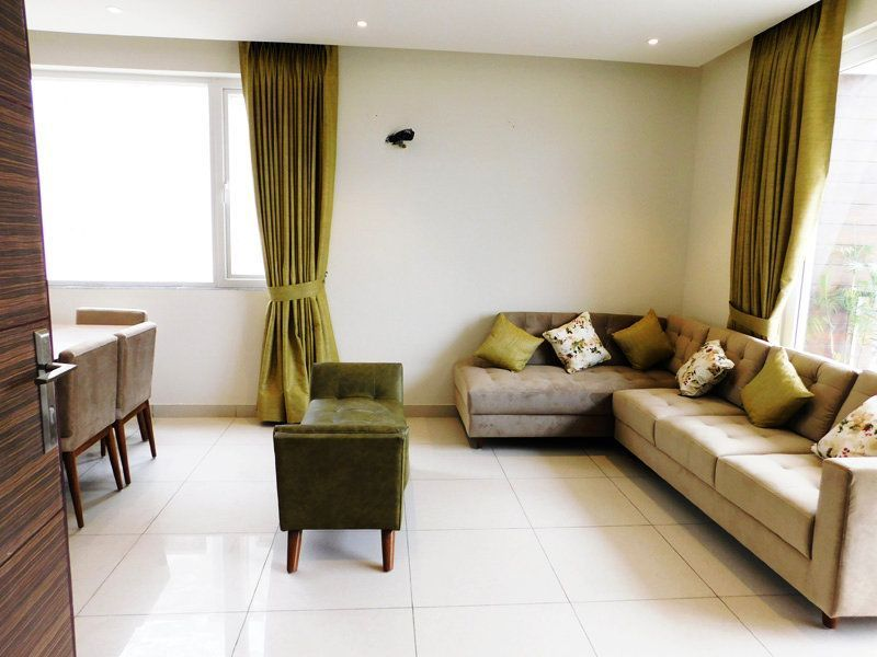 2BHK Ready To Move Flats in Highland Park Zirakpur Balcony Living Area