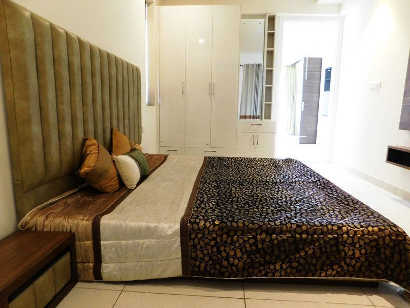 2BHK Ready To Move Flats in Highland Park Zirakpur Balcony Master Bedroom