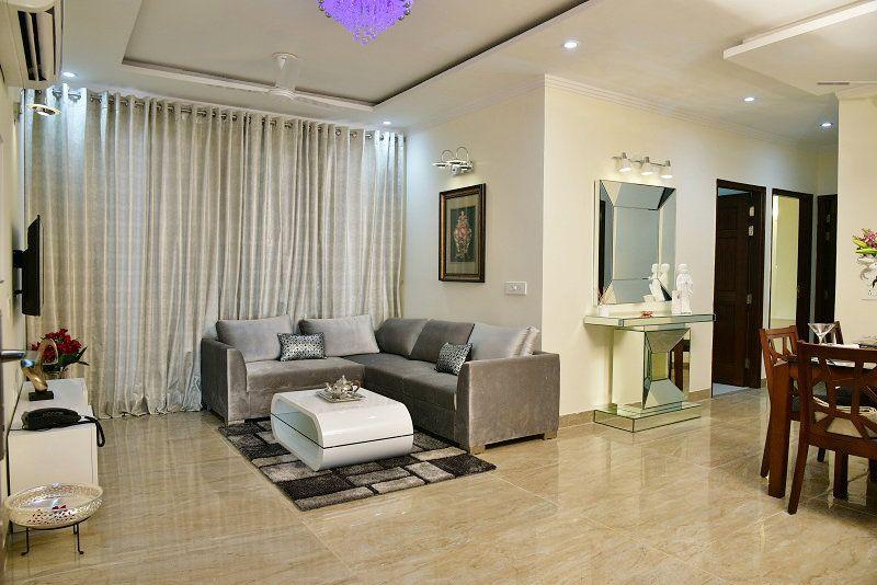 3-4bhk Flats For Sale in Gillco Parkhills Mohali Living Room