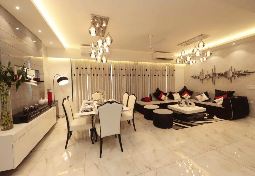 3-4bhk flats for sale in mona city homes mohali dining room
