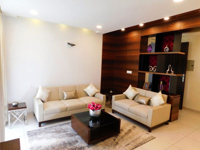 3BHK Ready To Move Flats in Highland Park Zirakpur Living Area