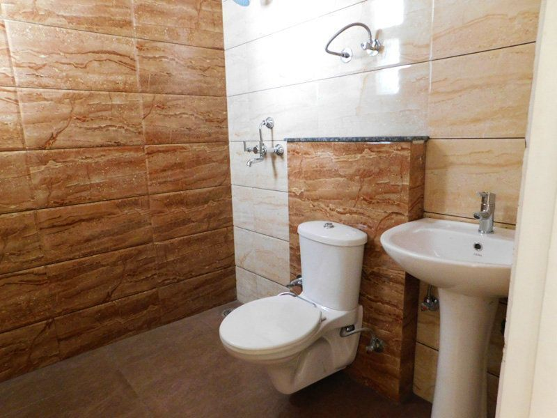 3BHK Ready To Move Flats in Highland Park Zirakpur Master Bedroom Bathroom