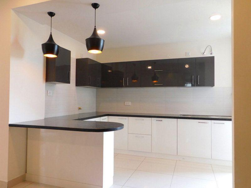 3BHK Ready To Move Flats in Highland Park Zirakpur Modular kitchen