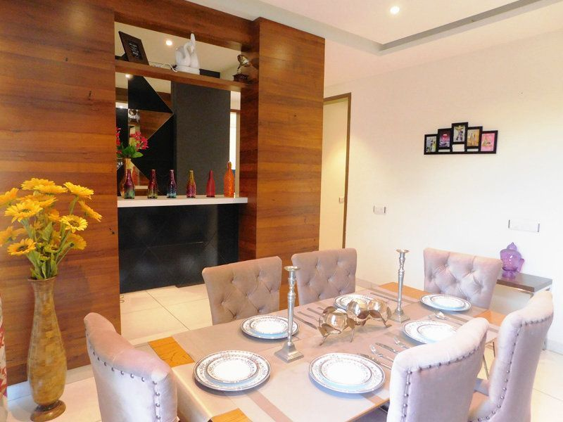 4bhk Ready To Move Flats For Sale in Highland Park Zirakpur Dining Area