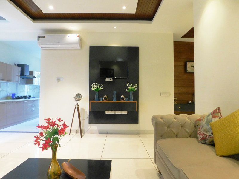 4bhk Ready To Move Flats For Sale in Highland Park Zirakpur Living Area