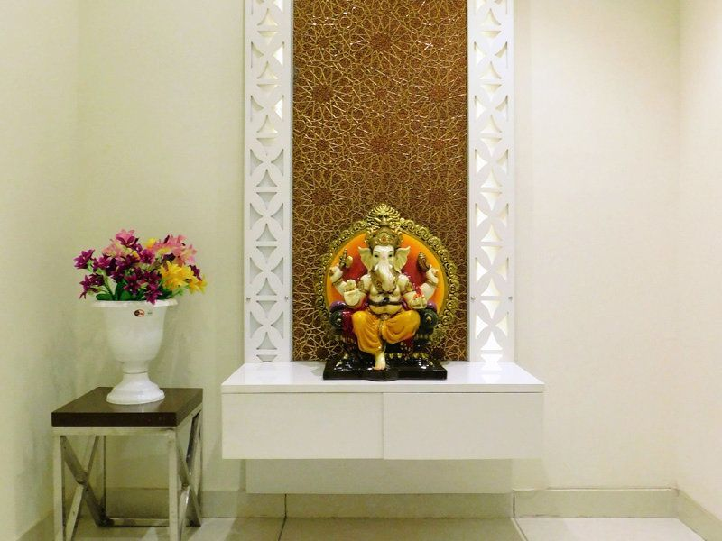 4bhk Ready To Move Flats For Sale in Highland Park Zirakpur Pooja Room