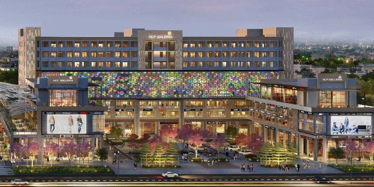 HLP Galleria in Mohali Commercial Office Spaces -SEO-Retail Outlets-Food Court-Fine Dinning-Sky Bar Clubs-Smart Retai- Restaurants-Showrooms for sale-cascade buildtech