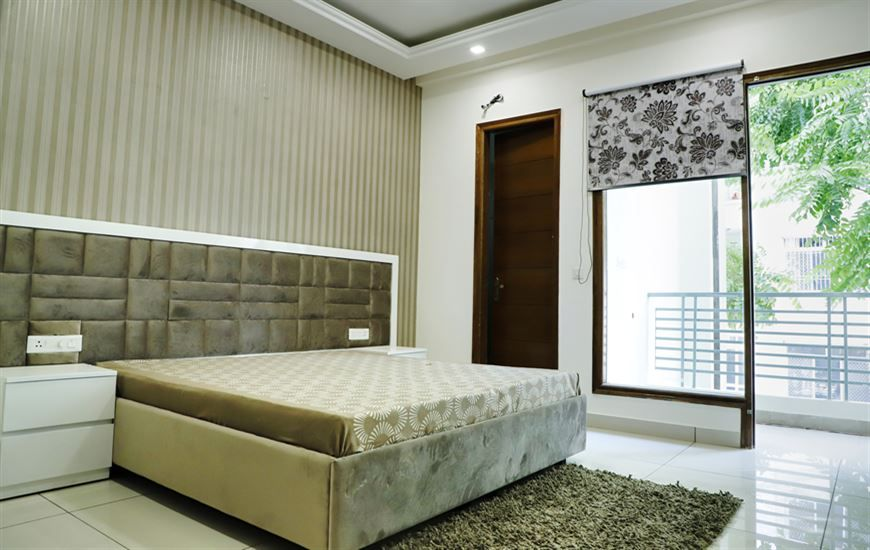 Grace homes Second Bedroom Ready to move 3bhk apartments with lift on vip road