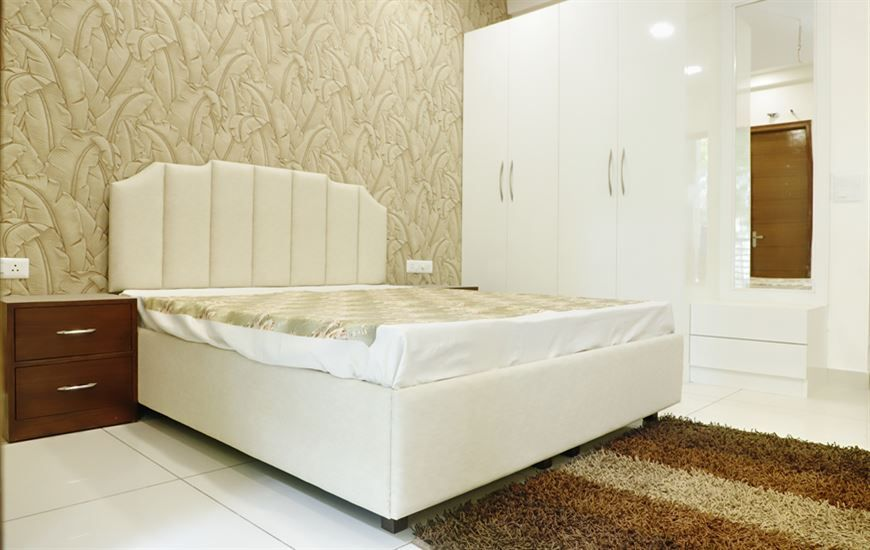 Grace homes Third Bedroom Ready to move 3bhk apartments with lift on vip road