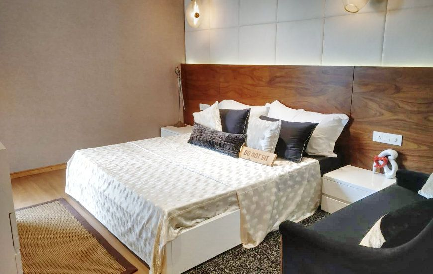 2 and 3 BHK Flats for Sale in Sushma Joy Nest Mohali-Bedroom