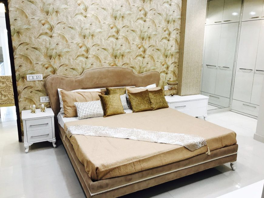 3BHK Ready To Move Flats in Bliss Orra Zirakpur-Bedroom