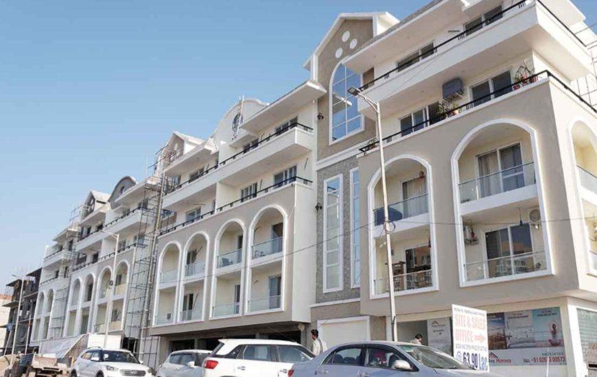 Joy homes Mohali 3 bhk flats for sale,