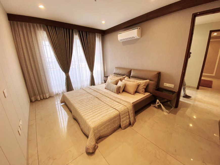 Sivanta Greens 3 BHK Flats For Sale in Mohali Second Bedroom