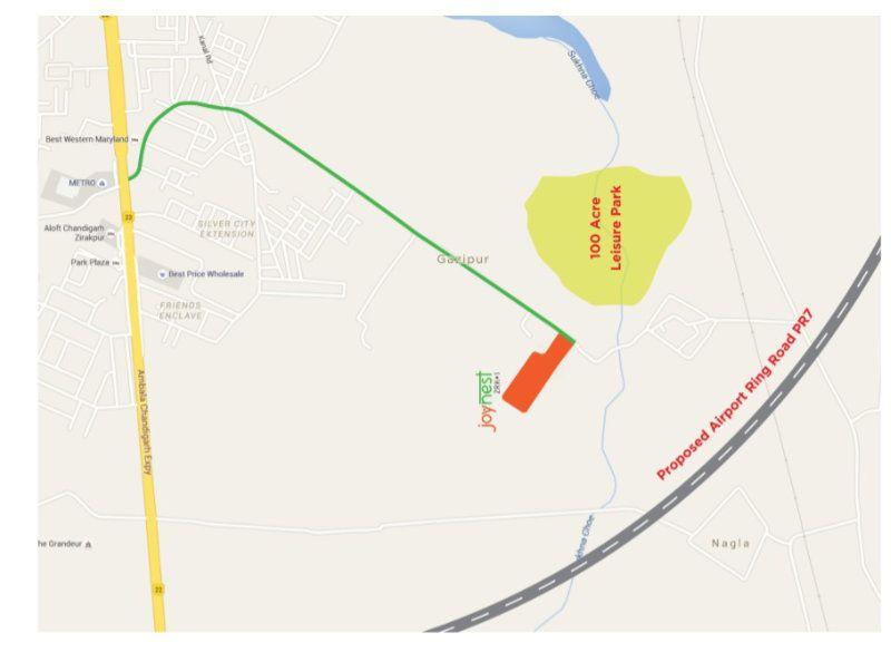 Sushma Joynest ZRK 1 Location Map
