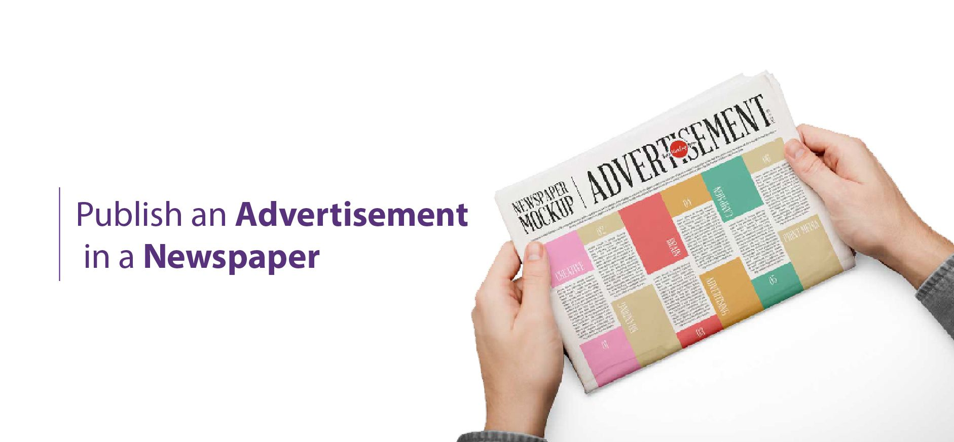 Publish-an-advertisement-in-a-newspaper