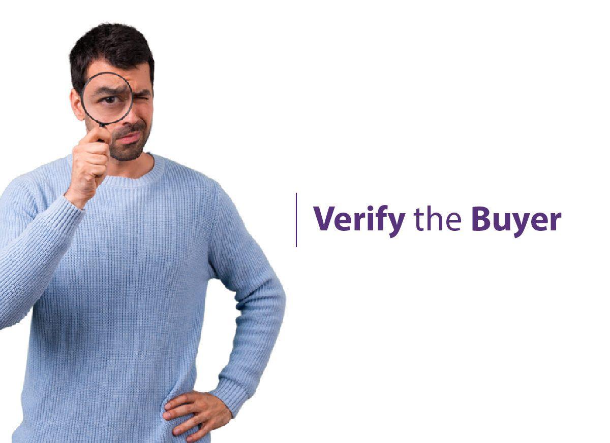 Verify-the-buyer
