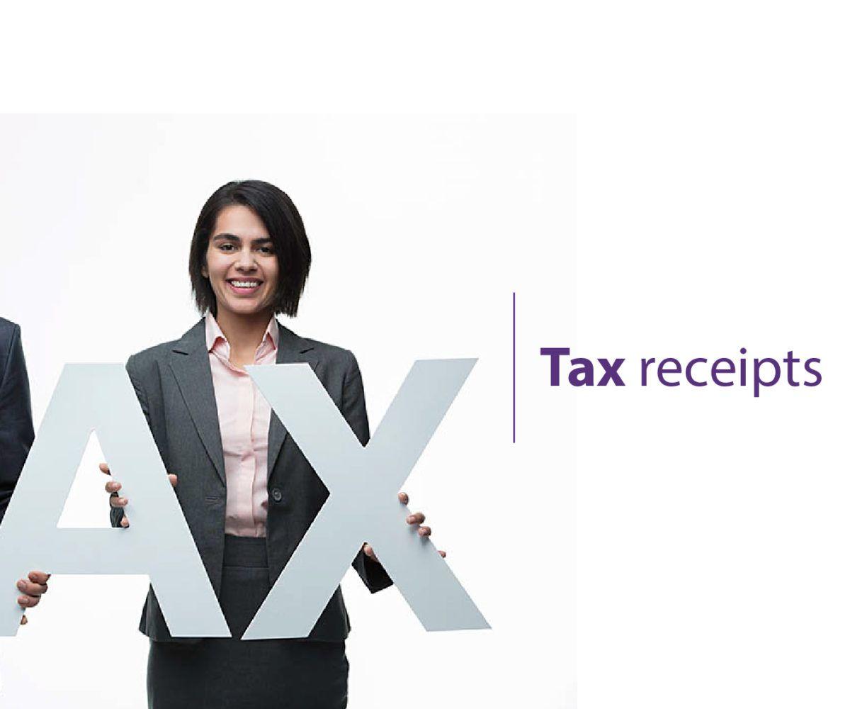 Tax-receipt