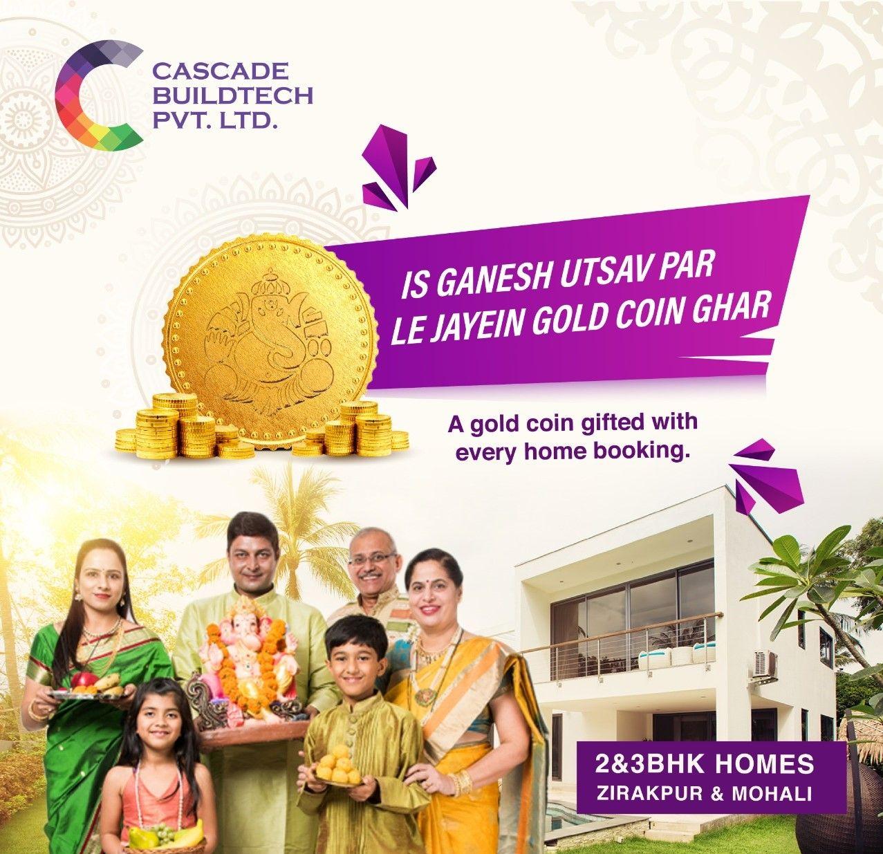 Cascade-buildtech-Real-Estate-Offer-for-Home-Buyers-on Ganesh Utsav