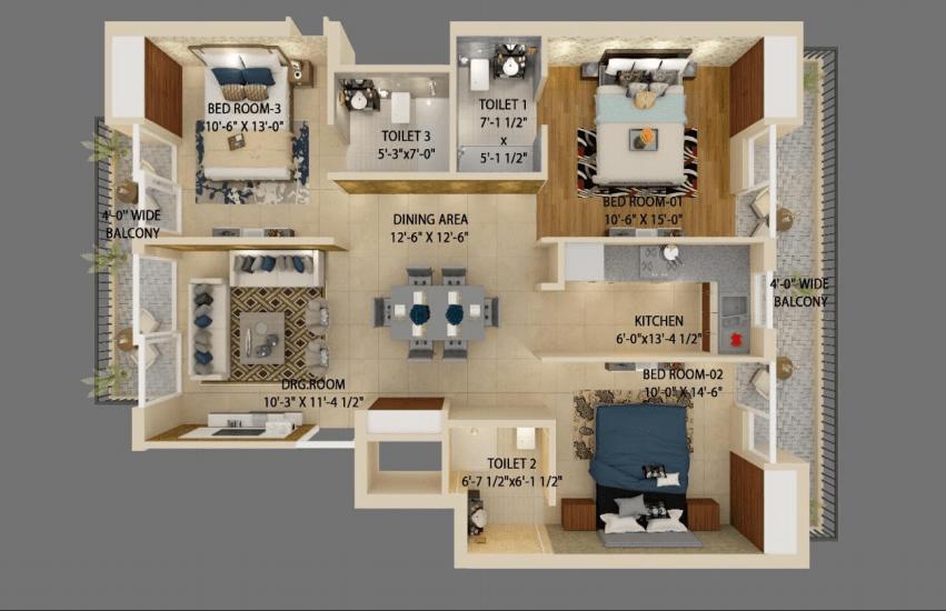 Maxxus Elanza unit plan