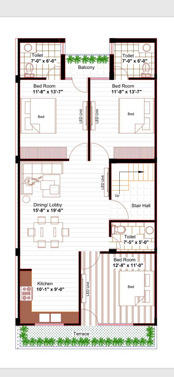 Floor Plan Onkar Homes Zirakpur