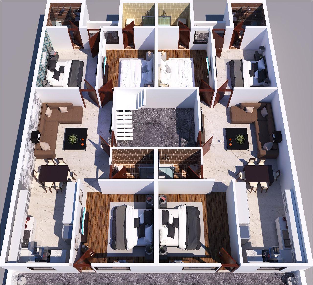 3D Layout Onkar Homes Zirakpur