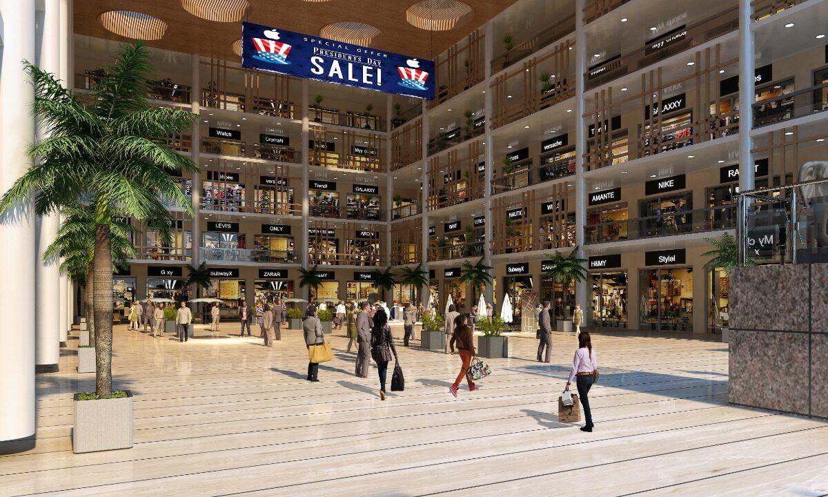 Courtyard Showrooms & Retail Shops