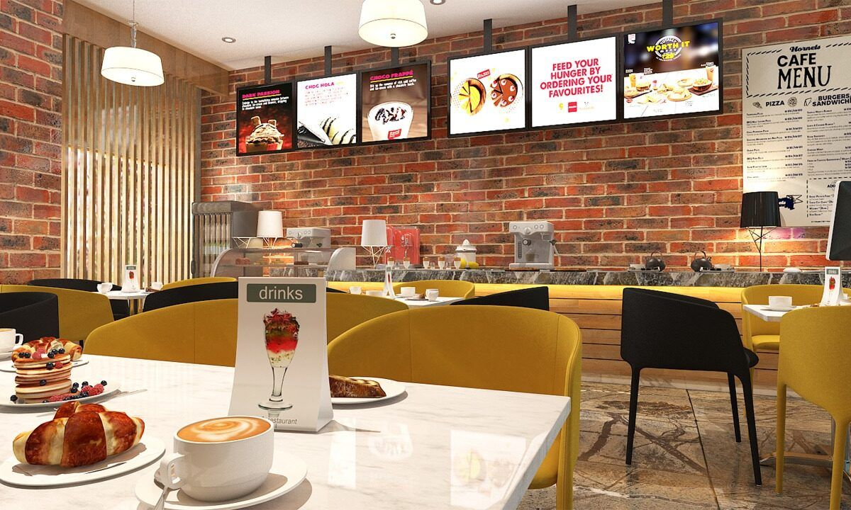 Food Court & Dining Spaces