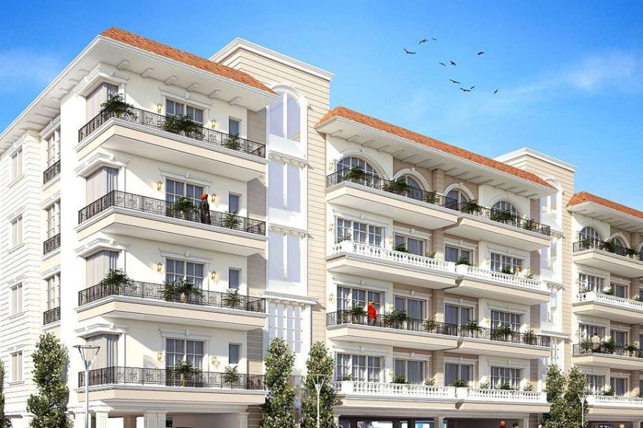 3+1+1bhk+servant room+store in mohali-Cascade Buildtech